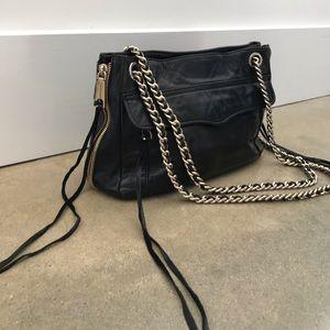 Rebecca Minkoff Black Convertible Shoulder Bag